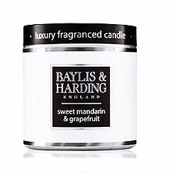 Baylis & Harding - Sweet Mandarin and Grapefruit Luxury Scented Candle Tin