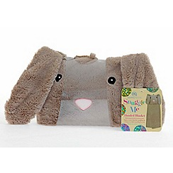 Snuggle Me - Bunny hooded blanket