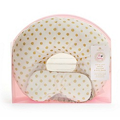 Debenhams - Neck pillow & eyemask