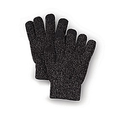 Debenhams - Black touch screen gloves