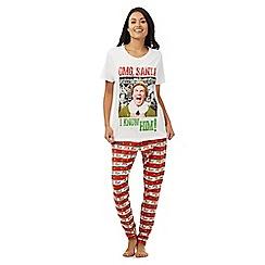 Debenhams - White 'Elf' pyjama set