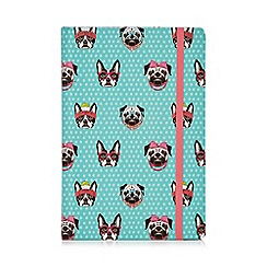 Aroma Home - Pug and french bulldog notebook