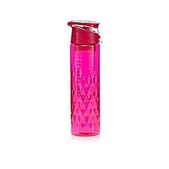 Gadget Co - Pink fruit infuser water bottle