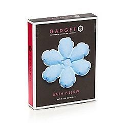 Gadget Co - Blue path pillow