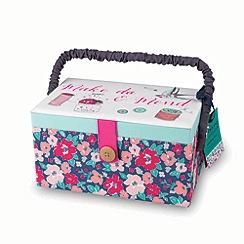 At home with Ashley Thomas - Sewing box