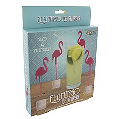 Debenhams - Flamingo ice stirers