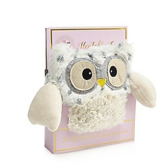 Oh So Lovely - White spotted heatable scented owl