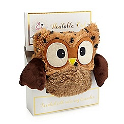 Oh So Lovely - Brown heatable scented owl