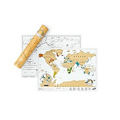 Luckies - Travel Edition Scratch Map