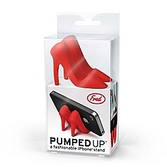 Fred - Pumped Up phone stand in Dorothy Red