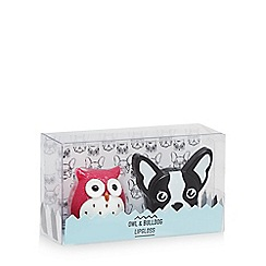 Debenhams - Owl and bulldog lipgloss