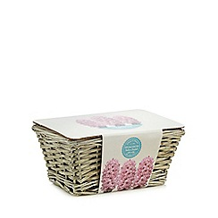 Wilson and Bloom - Large wicker hyacinth indoor planter