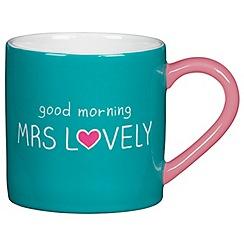 Happy Jackson - Good morning mrs lovely mug