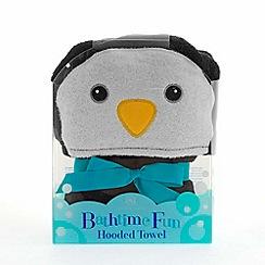 Snuggle Me - Penguin hooded towel