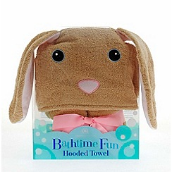 Snuggle Me - Bunny hooded towel