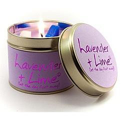 Lily Flame - Lavender and Lime Candle Tin