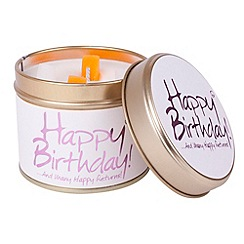 Lily Flame - Happy Birthday Candle Tin