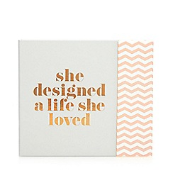 Zoella - She designed a life she loved stationery book