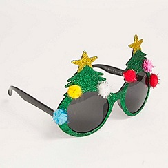 Debenhams - Christmas tree glasses