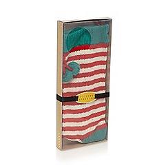 Debenhams - Red striped Christmas stocking