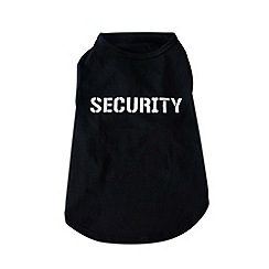 Spot & Mog - Black - Dog Secuirty Top S/M