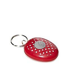 Debenhams - Pink keyring alarm