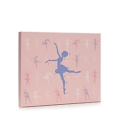 Debenhams - Pink ballerina LED wall art
