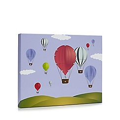 Debenhams - Multi-coloured hot air balloon LED wall art
