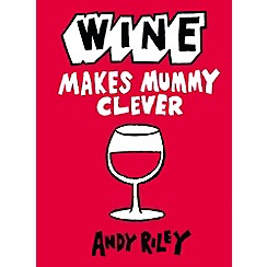 Debenhams - Wine makes mummy clever book
