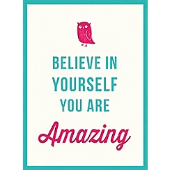 Debenhams - Believe in yourself book