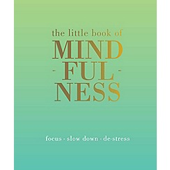 Debenhams - Little book of mindfulness book