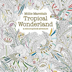 Debenhams - Tropical wonderland colouring book book