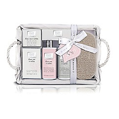Baylis & Harding - La Maison Linen Rose & Cotton Large Luxury Bathing Hamper
