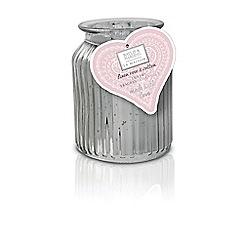 Baylis & Harding - La Maison Linen Rose & Cotton 1 Wick Candle