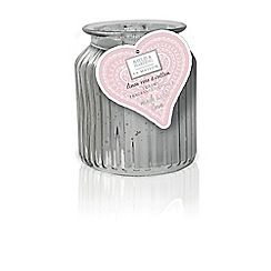 Baylis & Harding - La Maison Linen Rose & Cotton Large 1 Wick Candle
