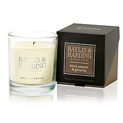 Baylis & Harding - Black Pepper & Ginseng  1 Wick Candle