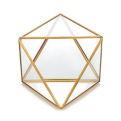 Wilson and Bloom - Gold Toned Terrarium