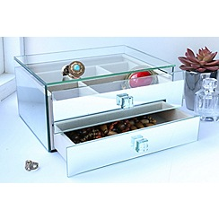By Savvy - Reflection glass jewellery box
