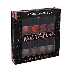 Academy of Colour - Pack of 8 Assorted Nail Polishes