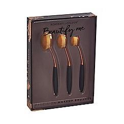 Academy of Colour - Beautify Me' Oval Makeup Brush Set