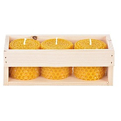 Wilson and Bloom - Beeswax candle - set of 3