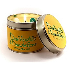Lily Flame - Daffodil & Dandelion Candle Tin
