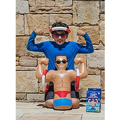 NPW - Inflatable Hunk Ring Toss Pool Float