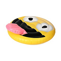 NPW - Inflatable Smiley Face with Tongue Pool Float