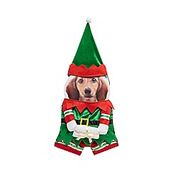 Spot & Mog - Dog elf fancy dress costume