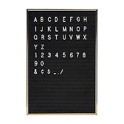 Gama Go - Black letter board