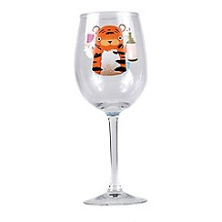 Jolly Awesome - Let's Get Wild wine glass