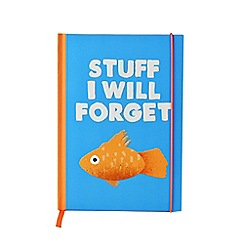 Jolly Awesome - Stuff I Will Forget A5 notebook