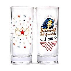 DC Super Hero Girls - Wonder Women Set of 2 stars glasses