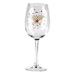 DC Super Hero Girls - Wonder Women Stars wine glass